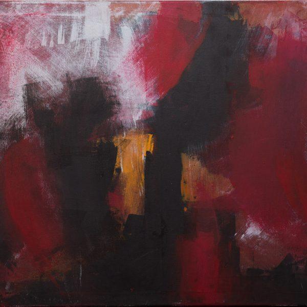 Red night 60×90 Acrilico su tela