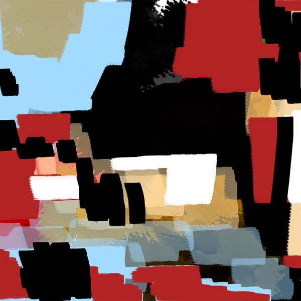 red-black 70x100 digital painting