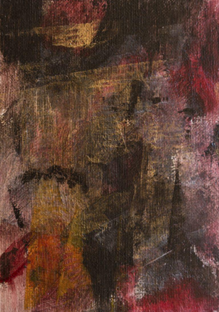 05 13x18 cm acrilico su cartone telato