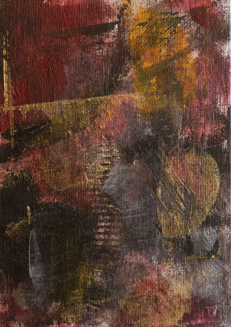 06 13x18 cm acrilico su cartone telato