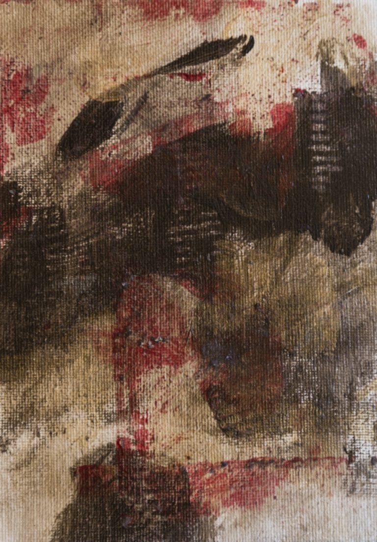 09 13x18 cm acrilico su cartone telato