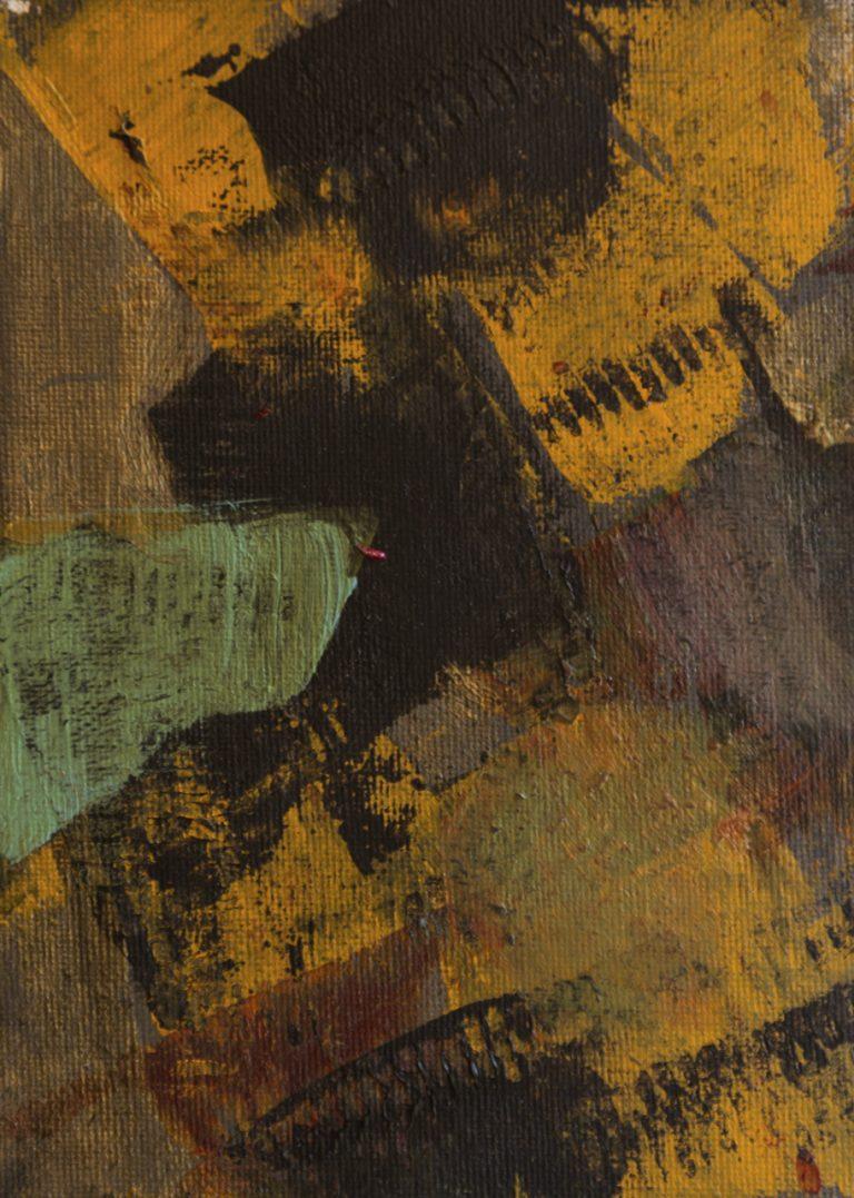 24 13x18 cm acrilico su cartone telato